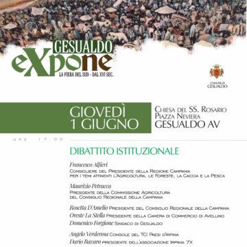 Irpinia 7X a Gesualdo Expone 2017