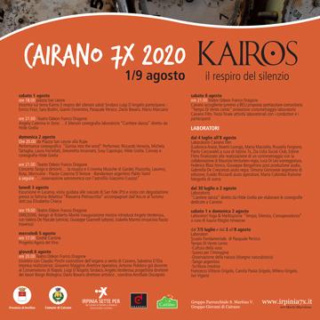 Cairano 7X 2020 – Programma